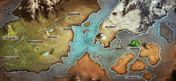 Mapa drakensang