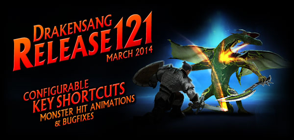 drakensang_online_release_121_key_shortcuts_monster_hit_animations