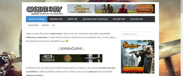 Katalog online her – ONLINE-iHry.cz