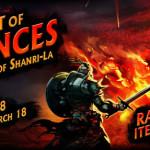 Event Poušť esencií – Ruiny Shagri-La III